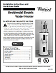 Whirlpool Electric Owners Manual